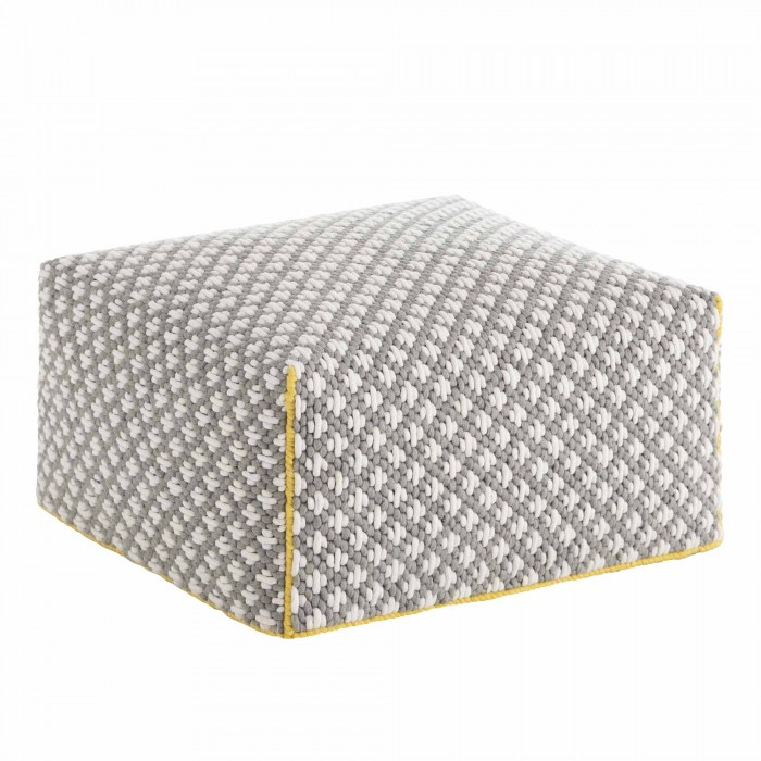 SILAÏ Big Grey pouf