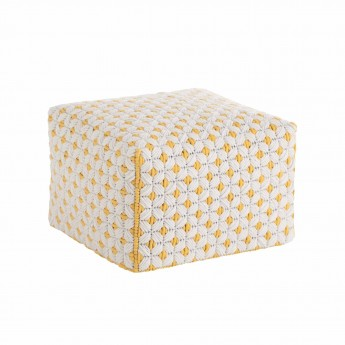 SILAÏ Little White pouf