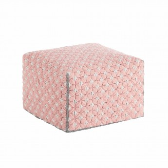 SILAÏ Little Pink pouf