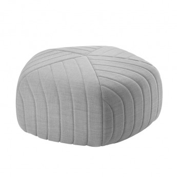 FIVE Pouf light grey