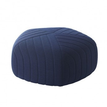 Pouf FIVE bleu foncé