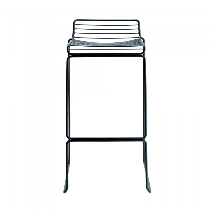 HEE bar stool black