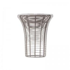 ARAM high stool taupe