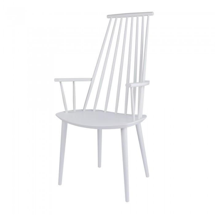 J 110 armchair white