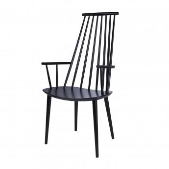 J 110 armchair black