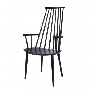 J 110 armchair black