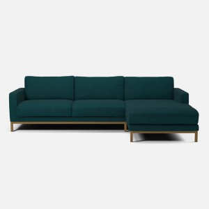 NORTH sofa 3 seaters with chaise longue