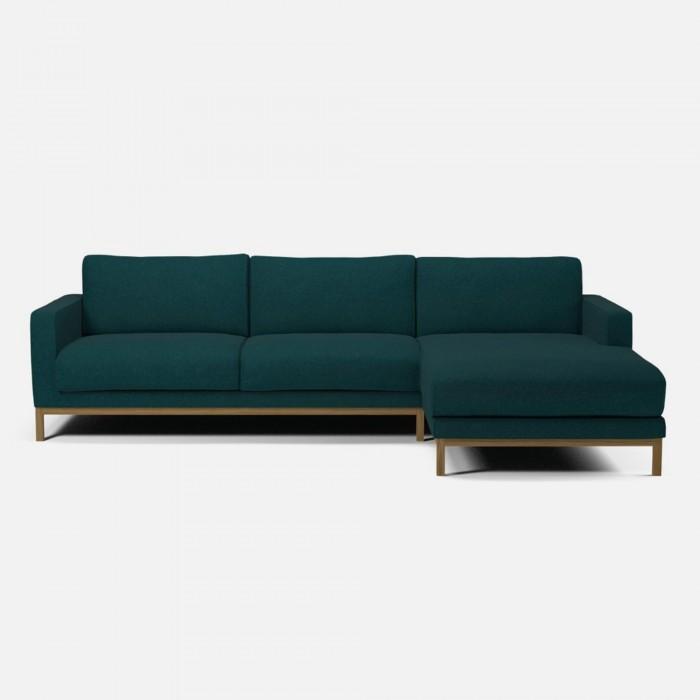 Canapé NORTH 3 places avec chaise longue