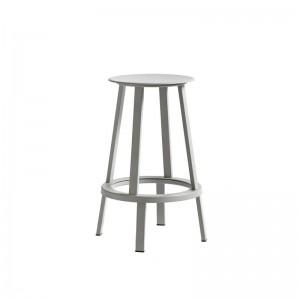 REVOLVER stool grey