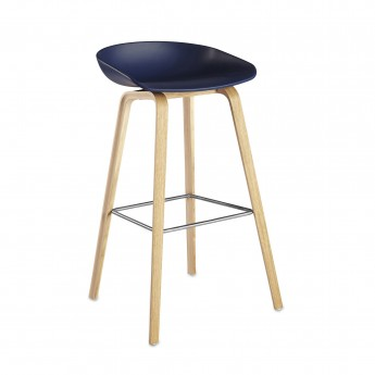 Tabouret ABOUT A STOOL 32 bleu