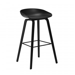 AAS32 stool all black
