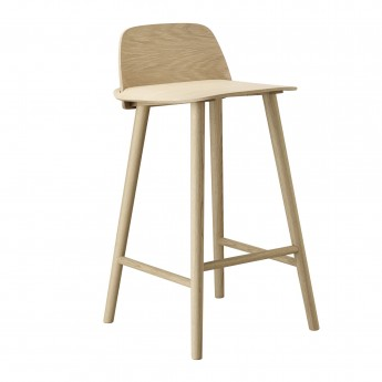 NERD high stool oak
