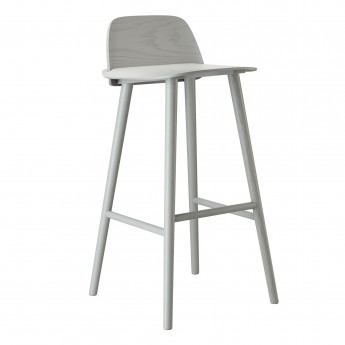 NERD high stool grey