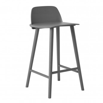 NERD high stool dark grey