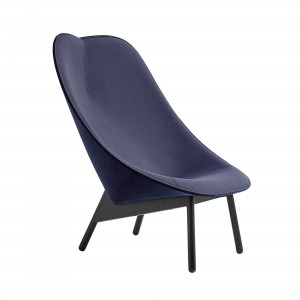 UCHIWA dark blue Lounge Chair