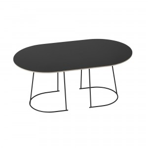 AIRY Coffee table M black