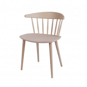 J 104 chair natural beech