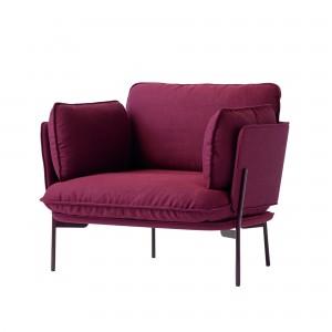 CLOUD Armchair red