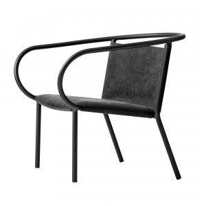 Chaise AFTEROOM Lounge noir