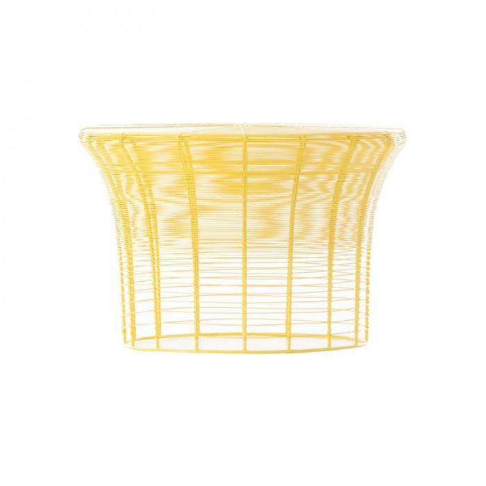 Table haute ARAM jaune