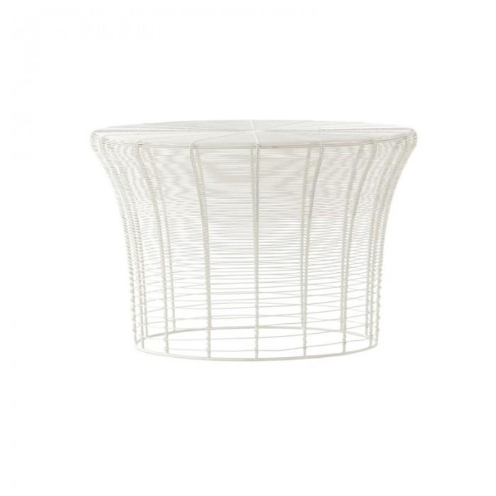 Table haute ARAM blanc