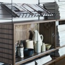 CABINET d'exposition / System STRING