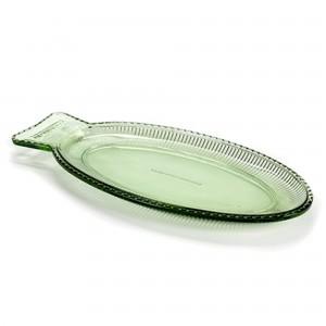 Plat POISSON vert transparent
