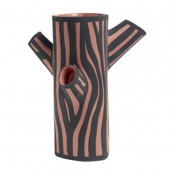 TREE TRUNK vase M pink