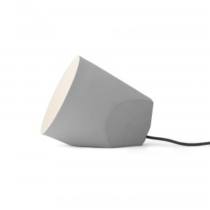 ON THE EDGE lamp light grey