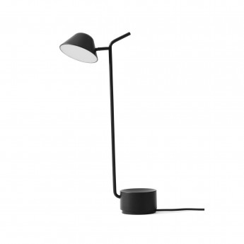 PEEK black table lamp