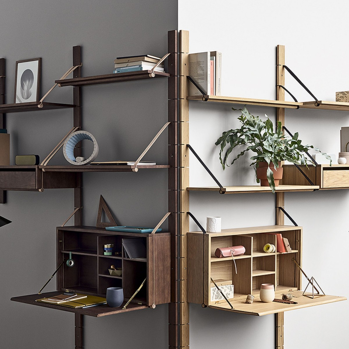 The Wall Side Panels Strap System By Bolia