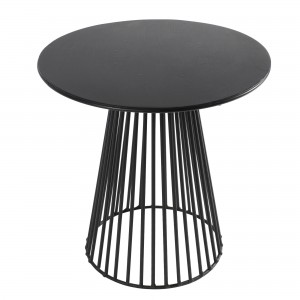 GARBO bistrot table black