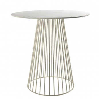 GARBO bistrot table white