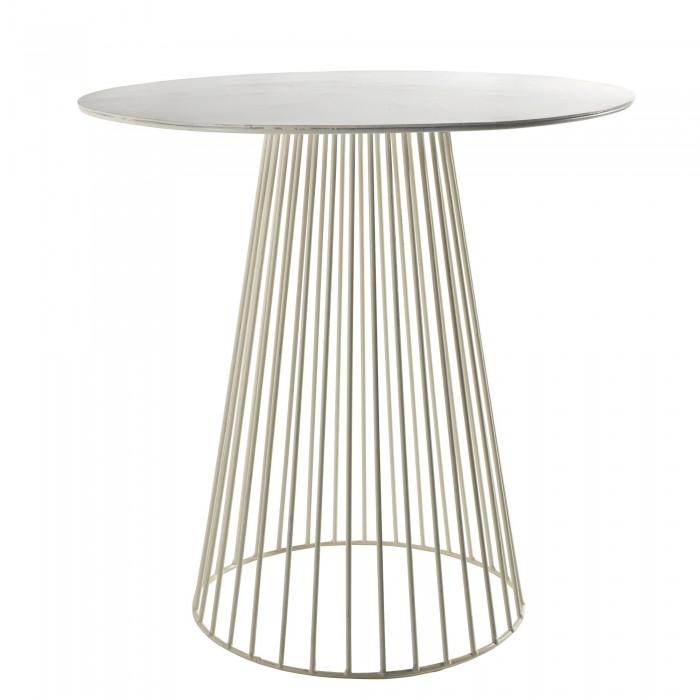 Table bistrot GARBO blanc