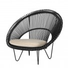 CRUZ COCOON natural armchair