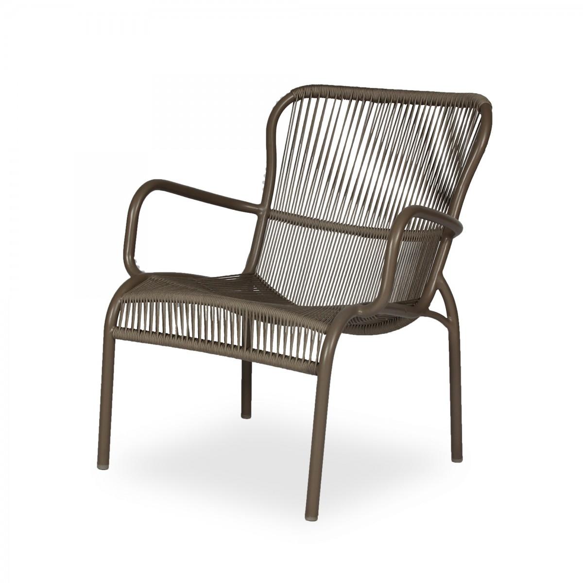 Fine Loop Lounge Rope Armchair Vincent Sheppard Customarchery Wood Chair Design Ideas Customarcherynet