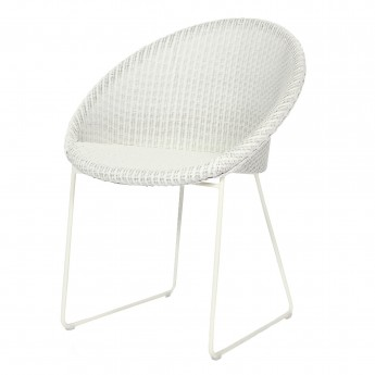 JOE armchair white