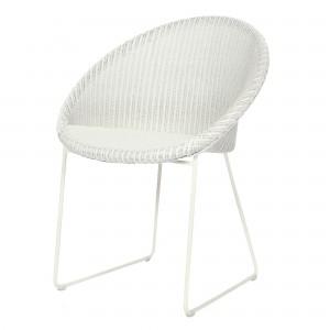 JOE armchair white