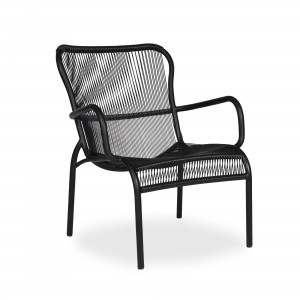 LOOP LOUNGE black armchair