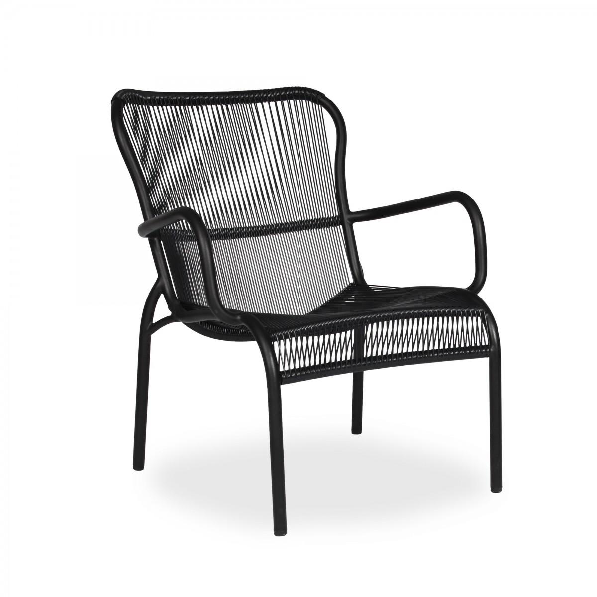 Cool Loop Lounge Black Armchair Vincent Sheppard Customarchery Wood Chair Design Ideas Customarcherynet