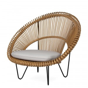 ROY COCOON natural armchair