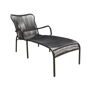 LOOP chaise longue black