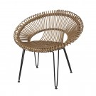ROY natural armchair