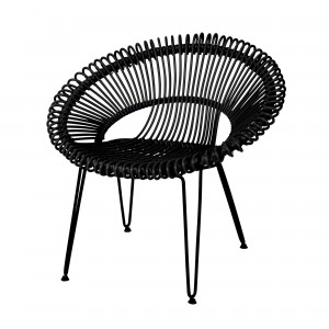 ROY black armchair