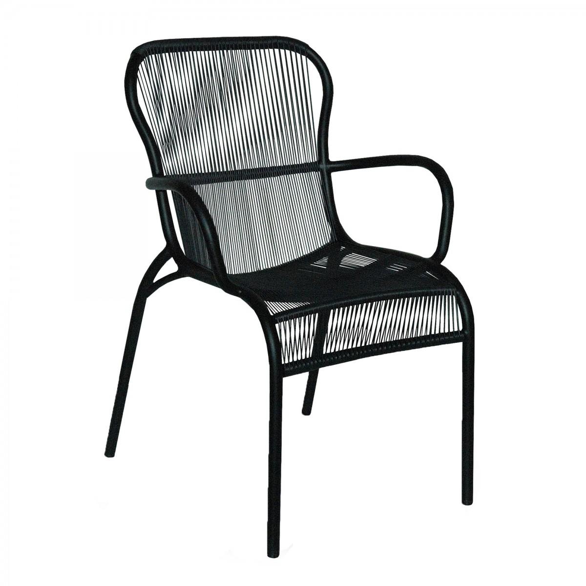 Loop Chair Black Vincent Sheppard