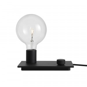 CONTROL lamp black