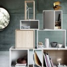 Modul with door STACKED shelf system