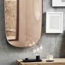 FRAMED mirror pink