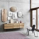 FRAMED mirror grey