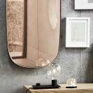 Miroir FRAMED gris